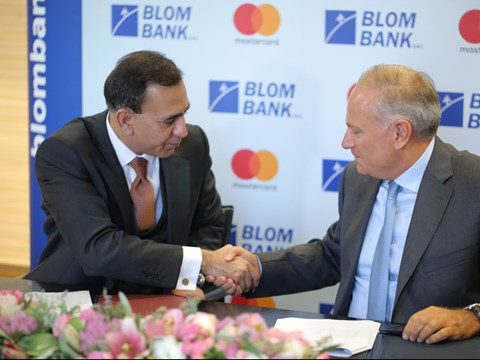 Mastercard and BLOM Bank team up to advance Lebanon's digital payments ecosystem through rollout of innovative technologies